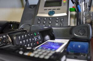 Az internetes telefon modern eszköz