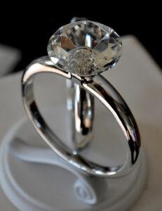 Gyémánt gyűrű olcsón