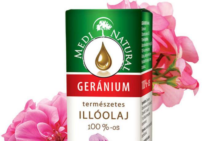 geránium illóolaj
