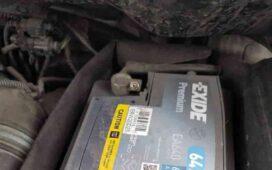 lemerült akkumulátor